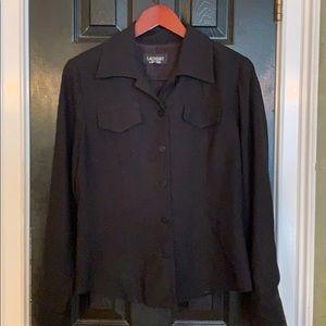 Laundry by Shelli Segal black jacket 12